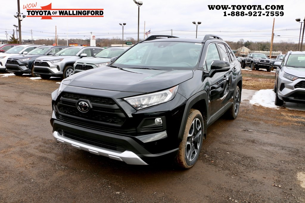 End of Year Mark Down on the New 2019 Toyota RAV4 Adventure AWD