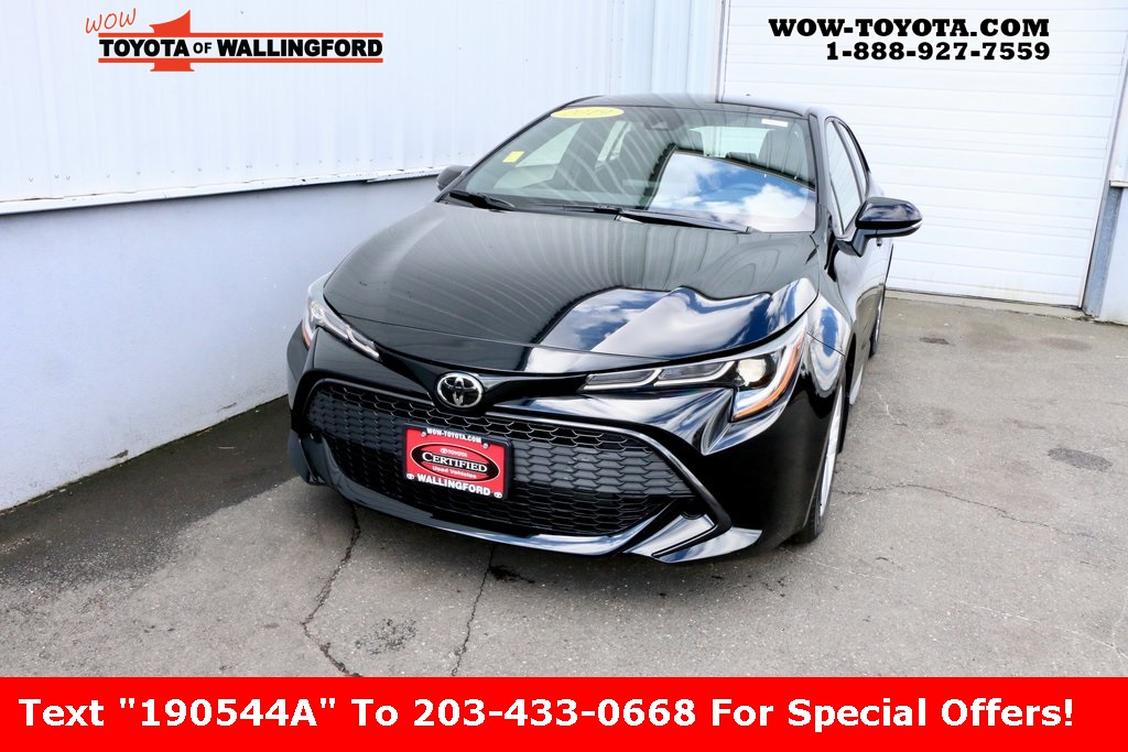 Pre-Owned 2019 Toyota Corolla Hatchback SE