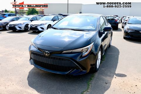 New Toyota Cars, SUVs in Stock | Toyota of Wallingford